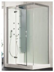 Douchecabine 80 Bij 80.Kinedo Horizon 110 Kleur 110x80 Cm