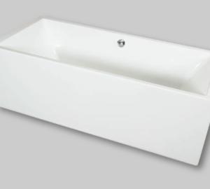 Rechthoekig vrijstaand bad