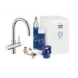 Grohe keukenkraan Grohe Blue Chilled Sparkling 31323001