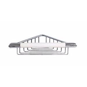 Novellini R90MANGL0B-A Hoekbeugel met korf wit