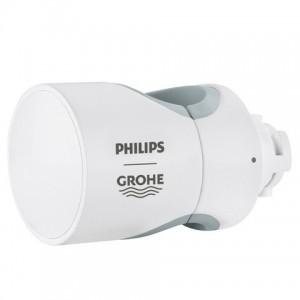 Grohe-Aquatunes-Stangenadapter-26323L00-moon-white,-fuer-Duschstangen-20-25mm