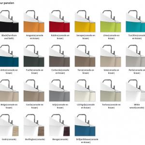 novellini infinitive baden kleurpanelen